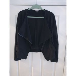 Express Faux Suede Jacket